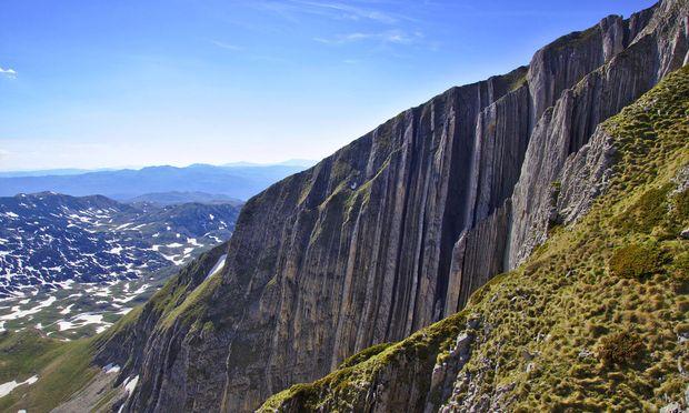 Kalkstein-Giganten im Durmitor-Gebirge