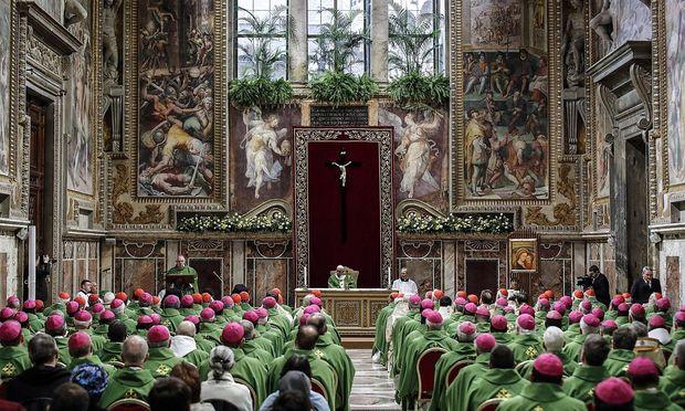 Die Vorsitzenden der 114 Bischofskonferenzen weltweit nahmen am Gipfel teil.