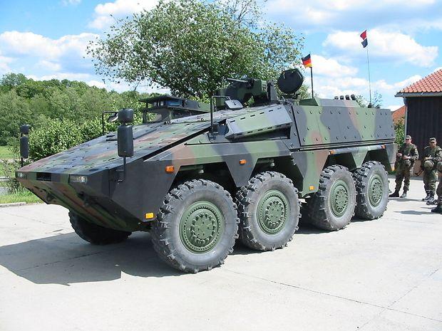 """""""Boxer"""" der Bundeswehr"""
