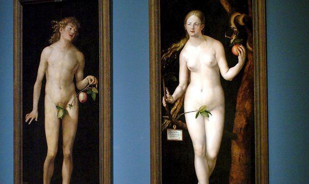 Adam und Eva von Albrecht Dürer. Auf vorbiblischen Tontafeln wurde ihre Geschichte nun entschlüsselt.