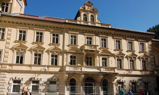 Archivaufnahme: Hotel Straubinger