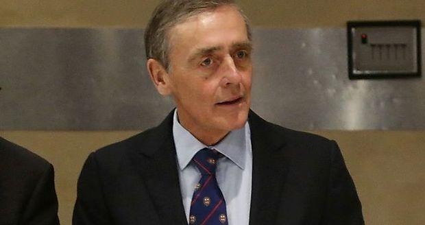 Der mittlerweile verstorbene Gerald Cavendish Grosvenor,  Duke of Westminster, im Dezember 2014.
