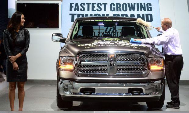 """Ein großer, schwerer """"Stinker"""": Der Dieselmotor des Ram 1500 soll eine illegale Abgasschaltvorrichtung haben."""