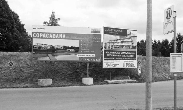 Urlaubsfeeling? Ganzjähriges Wohnen am Schottersee. Der Preis: kein Anschluss unter dieser Adresse. / Bild: Foto: Tschavgova