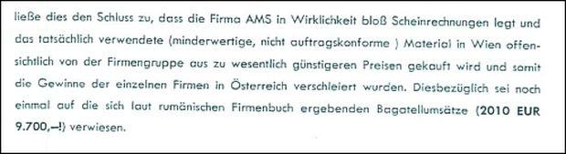 Deutliche Worte: Gutachten der Wirtschaftskammer zur Verrechnungspraxis.