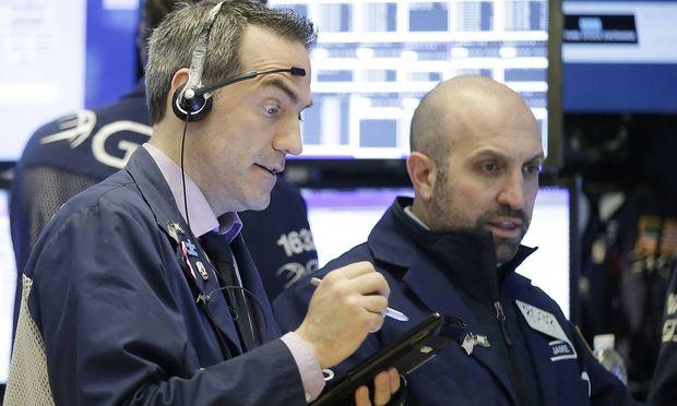 Erstaunt, aber wenig erschrocken waren die US-Händler am Mittwoch.