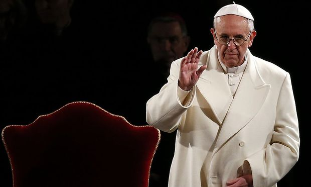 Papst Franziskus bei der Kreuzweg-Andacht