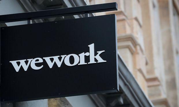 Logo von WeWork in New York City / Bild: Reuters