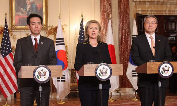 USA, Südkorea und Japan drohen Nordkorea