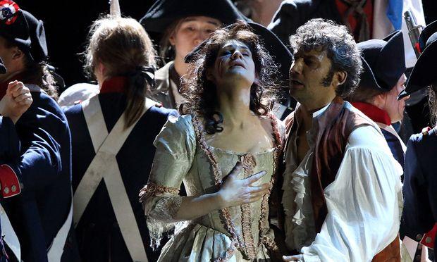Das Opern-Traumpaar Anja Harteros und Jonas Kaufmann in München.