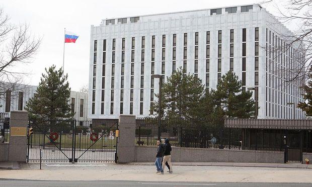 Russische Botschaft in Washington