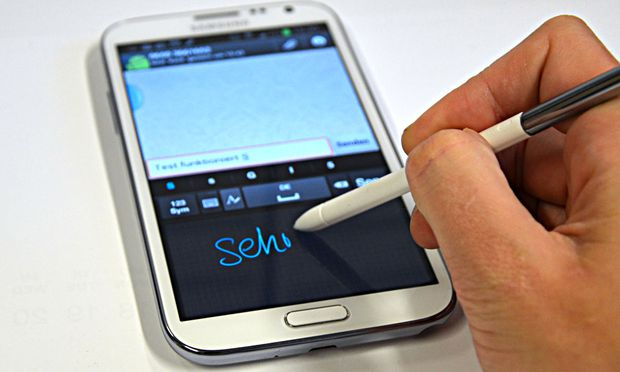 Galaxy Note Beinahe makelloser