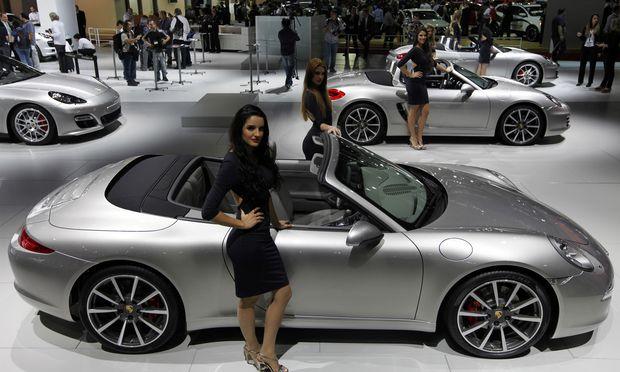 Welches Auto nehmen wir heute? Um 3000 Dollar pro Monat hat man Zugriff auf alle Porsche-Modelle.
