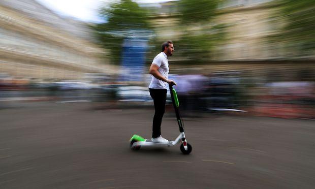 E-Tretroller sind in Wien stark im Trend