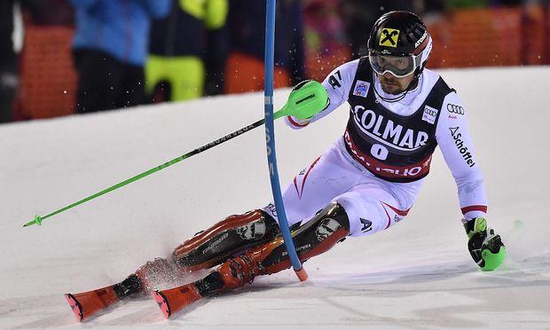 Ski alpin: Hirscher rettet Sieg in Madonna
