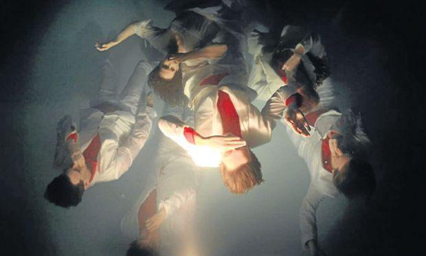 Arcade Fire gespiegelten Licht