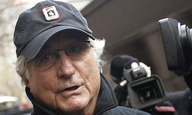 File photo of Bernard Madoff in New York