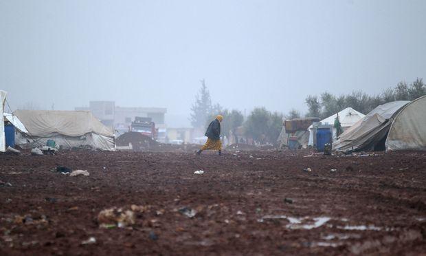 Themenbild: Campleben in Syrien