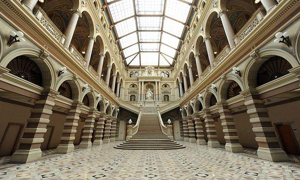 Archivbild: Der Wiener Justizpalast