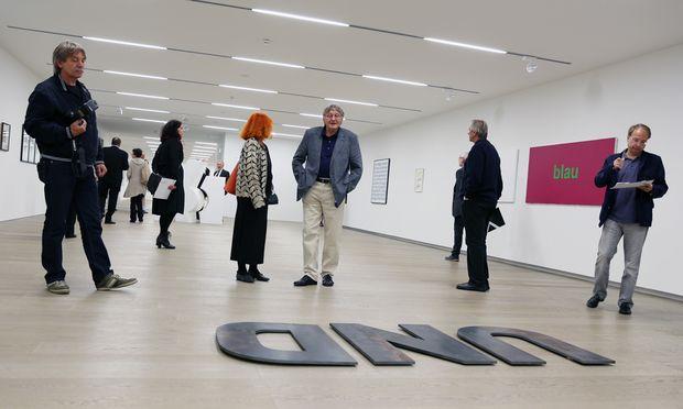 Neues Museum Bilderrahmen sprengen