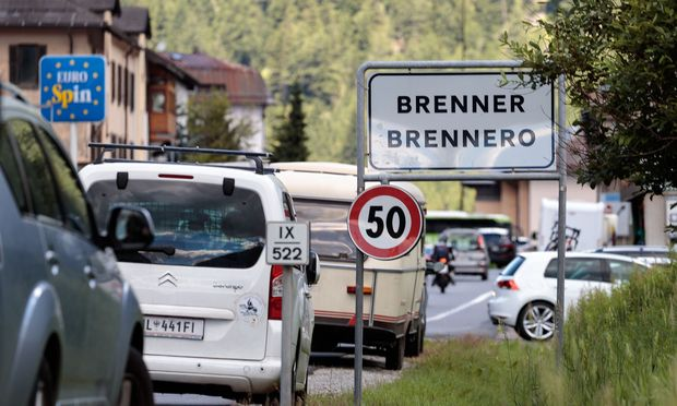 Soldaten helfen Tiroler Polizei bei Kontrollen in Grenznähe