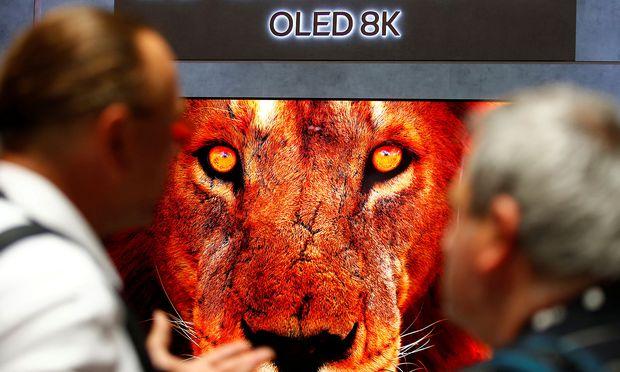 Dass Einbrenneffekte bei OLED-Geräten entstehen, ist tatsächlich sehr selten.