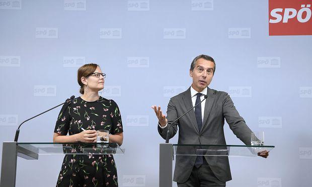 PK SPOe ZU ERGEBNISSEN DES PRAeSIDIUMS UND BUNDESPARTEIVORSTANDS: KERN / BRUNNER
