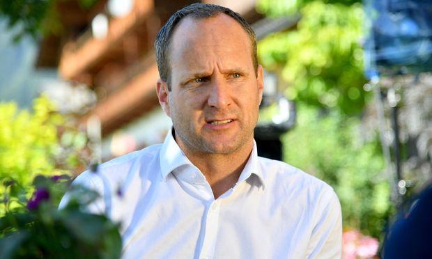 Neos-Spitzenkandidat und Parteichef Matthias Strolz