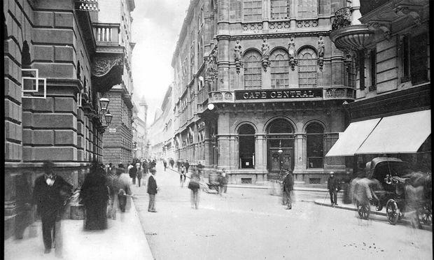 Im Café Central waren sie alle – auch die Austromarxisten und Leo Trotzki.