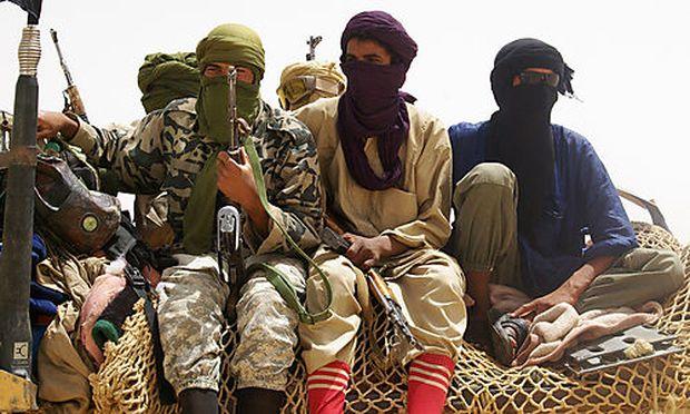 Kämpfer der islamistischen Miliz Ansar Dine