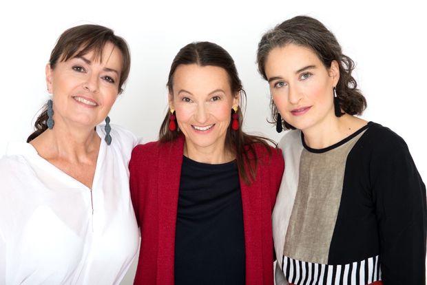 Susanne Gstettner, Angelika Gregoric und Tehilla Gitterle