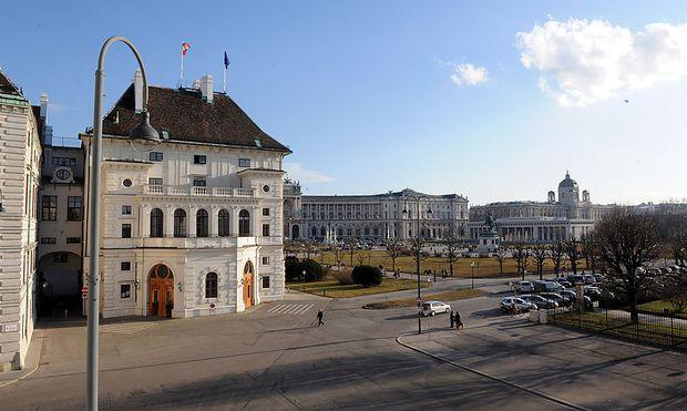 Archivbild: Der Wiener Ballhausplatz