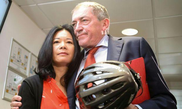 Heinz Schaden und seine Ehefrau Jianzhen