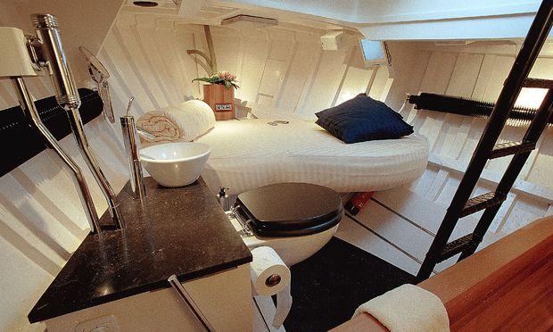 Schwimmendes Zwei-Gäste-Hotel: das Boot Lilla-Marras