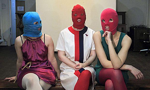 Russischen PunkAktivistinnen Pussy Riot