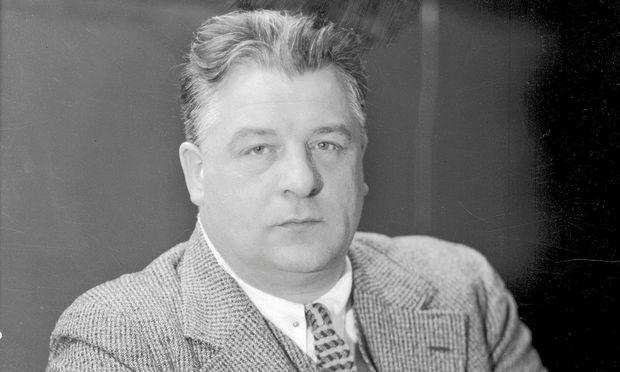 Eine zwiespältige Persönlichkeit: der als Dichterfürst verehrte Josef Weinheber.