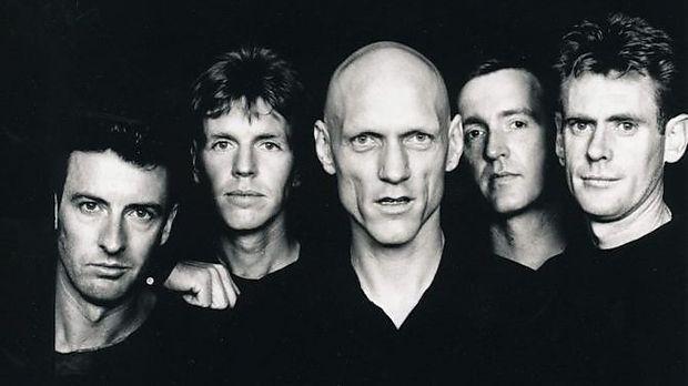 Die Band in den 1980ern