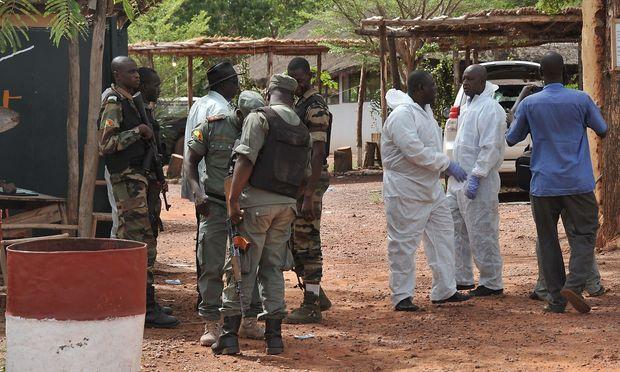 Die Attacke in einer Touristen-Unterkunft in Bamako ist noch nicht restlos geklärt.