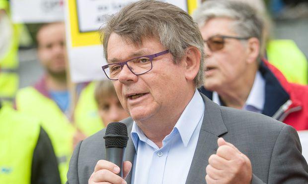 Der künftige ÖGB-Präsident Wolfgang Katzian zeigt sich gerüstet.