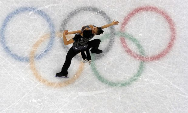 Das nordkoreanische Eiskunstlauf-Paar Ryom Tae-ok und Kim Ju-sik lösten eine Welle der Begeisterung aus. Als Elfte des Kurzprogramms folgt heute die Kür.
