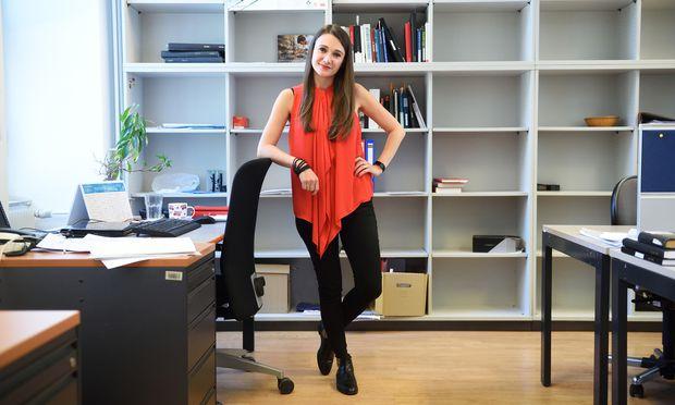 """""""Ich wollte mich in meinem Leben auf etwas konzentrieren, was mir Spaß macht"""", sagt die Literaturwissenschaftlerin Magdalena Baran-Szołtys.  / Bild: (c) Die Presse (Clemens Fabry)"""
