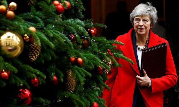 Der britische Premierministerin droht eine Niederlage.