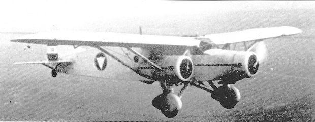 Einer von vier Bombern Caproni Ca.133, auch als Transporter genutzt