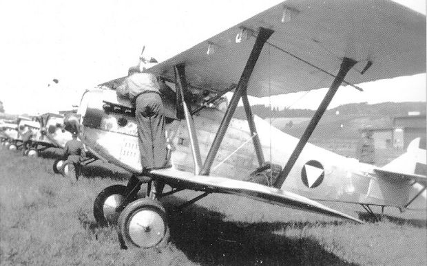 Fiat CR.20, damals schon obsolet