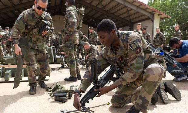 Krieg Mali Frankreich schickt