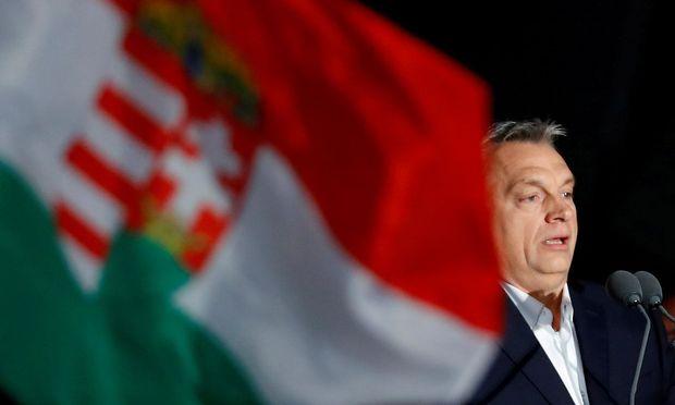 Ungarns Premier Orbán.