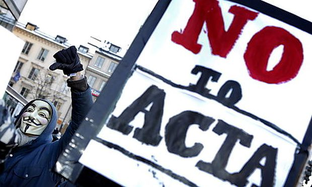 SWEDEN PROTEST ACTA
