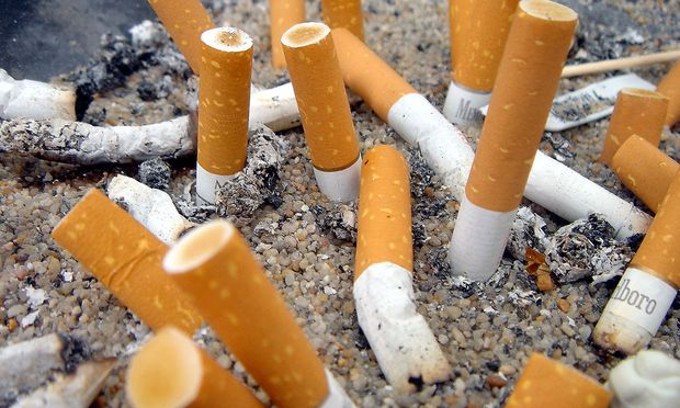 Zigarettenstummel / Bild: www.BilderBox.com