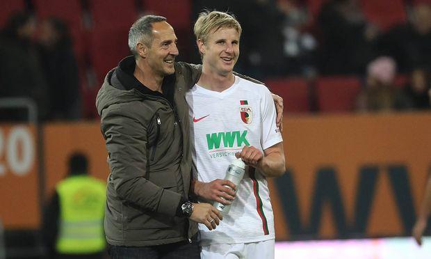 Adi Hütter und Martin Hinteregger sind in Frankfurt vorerst bis Saisonende wieder vereint, beide kennen sich aus gemeinsamen Salzburg-Zeiten.