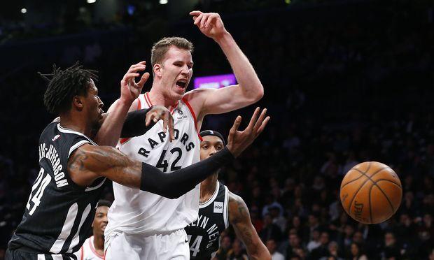 Jakob Pöltl gegen Brooklyn